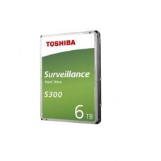 DISCO DURO VIDEOVIGILANCIA 6TB TOSHIBA S300 3.5 7200RPM 256MB S300 P/N HDWT360UZSVA
