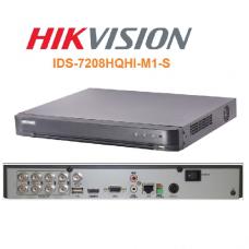 DVR HIKVISION 8CH 1080P LITE 25FPS 1HDD P/N IDS-7208HQHI-M1S