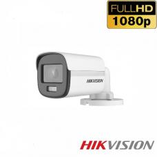 CAMARA DE SEGURIDAD HIKVISION HIK MINIBALA 1080P 3.6mm IP67 IR 30MT P/N DS-2CE10DF0T-PF3.6MM