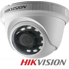 CAMARA DE SEGURIDAD HIKVISION DOMO 1080p Lente Fijo 2.8mm IP66 IR 20mt - INDOOR/OUTDOOR- IP66 P/N DS-2CE56D0T-IPF2.8MM