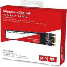 DISCO WESTERN DE ESTADO SOLIDO 500GB M.2 2280 RED P/N WDS500G1R0B