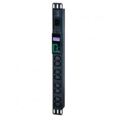 PDU APC - POWER DISTRIBUTION STRIP - RACK-MOUNTABLE - AC 230 V - 13 TOMAS DE CORRIENTE P/N EPDU1016M