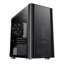 GABINETE THERMALTAKE V150 TG BLACK TAPA LATERAL TRANSPARENTE SIN FUENTE P/N CA-1R1-00S1WN-00