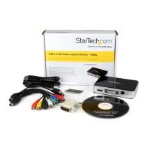 CAPTURADORA DE VIDEO STARTECH USB 3.0 A HDMI/DVI/VGA Y VIDEO POR COMPONENTE P/N USB3HDCAP