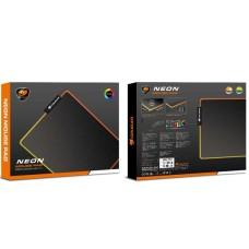 MOUSE PAD COUGAR NEON X RGB 350X300X4MM P/N 3MNEXMAT.0001