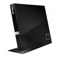 GRABADOR EXTERNO DE BLU-RAY ASUS 6X SLIM USB COMPATIBLE BDXL HASTA 128GB P/N SBW-06D2X-U