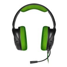 AUDIFONO GAMER CORSAIR GAMING HS35 STEREO GREEN P/N CA-9011197-NA