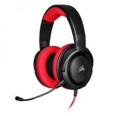 AUDIFONO GAMER CORSAIR GAMING HS35 STEREO RED P/N CA-9011198-NA