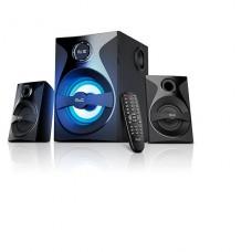 parlantes de 2.1 KLIP XTREME BluFusion Sistema de  canales con función NFC y tecnología inalámbrica Bluetooth® P/N KWS-640