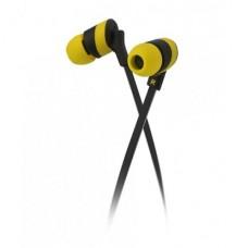 Audífonos estéreo Klip Xtreme KolorBudz Amarillos P/N KHS-625YL