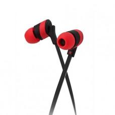 Audífonos estéreo Klip Xtreme KolorBudz Rojos P/N KHS-625RD