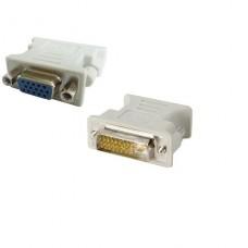 Adaptador de pantalla Xtech  DVI-I (M) a HD-15 (VGA) (H) P/N XTC-362