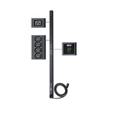 PDU TRIPPLITE monofásico con medidor digital de 3.2-3.8kW, tomacorrientes de 200-240V (6 C19 y 32 C13 ), cable C20/L6-20P, cable de 3 m (10 pies), 0U VerticalP/N PDUM20HV