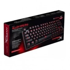 Teclado Mecanico Gamer HyperX Alloy FPS Pro cherry MX Red en ingles P/N HX-KB4RD1-USR2