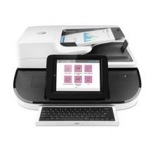 SCANNER HP Digital Sender Flow 8500fn2 Escáner de documentos  a dos caras - 216 x 864 mm - 600 ppp - hasta 100 ppm (mono) / hasta 100 ppm (color) - Alimentador automático de documentos (ADF) (150 hojas) - hasta 10000 exploraciones por día - USB 2.0, Gi