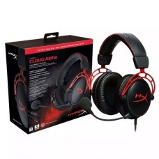 AUDIFONO GAMER HyperX Cloud Alpha RED P/N HX-HSCA-RDAM