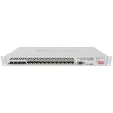 MikroTik Cloud Core Router CCR1036-12G-4S-EM - Router - 12-port switch - GigE - rack-mountable