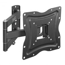 SOPORTE Klip Xtreme  Montaje en la pared para LCD / panel de plasma - acero con recubrimiento en polvo - negro - tamaño de pantalla: 13