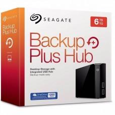 Disco Duro Externo Seagate Backup Plus Hub 6TB USB 3.0 Negro P/N STEL6000100