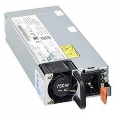 Lenovo - Fuente de alimentación - conectable en caliente (módulo de inserción) - 80 PLUS Platinum - CA 115/230 V - 750 vatios - para ThinkAgile VX 1U Certified Node; ThinkSystem SR530; SR550; SR570; SR590; SR850; ST550
