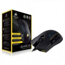 MOUSE  GAMER CORSAIR Gaming GLAIVE RGB  6 botones  USB  negro P/N CH-9302011-NA