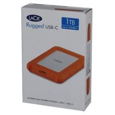 DISCO EXTERNO LaCie Rugged 1TB USB-C  3.1 Gen 1 P/N STFR1000800