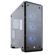 CORSAIR Crystal Series 570X RGB - Media torre - ATX - sin fuente de alimentación (ATX) - negro espejo - USB/Audio