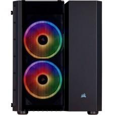 CORSAIR Crystal Series 280X RGB - Torre - micro ATX - sin fuente de alimentación (ATX) - negro - USB/Audio