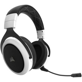AUDIFONO GAMER CORSAIR Gaming HS60 SURROUND cableado USB, conector de 3,5 mm blanco P/N CA-9011174-NA