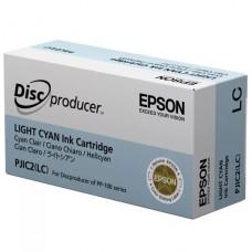 CARTRIDGE Epson Cián claro original para Discproducer PP-100, PP-100AP, PP-100II, PP-100IIBD, PP-100N, PP-100NS, PP-50, PP-50BD P/N C13S020448