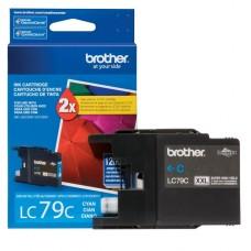 CARTRIDGE Brother Súper Alto Rendimiento  cián original  cartucho de tinta para Brother MFC-J5910, MFC-J6510, MFC-J6710, MFC-J6910; Justio MFC-J5910 P/N LC79C