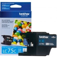 CARTRIDGE Brother Alto rendimiento cián original cartucho de tinta para Brother MFC-J280, J425, J430, J435, J5910, J625, J6510, J6710, J6910, J825, J835 P/N LC75C