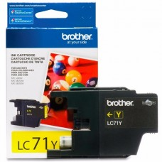 cartridge Brother Amarillo original  cartucho de tinta para Brother MFC-J280, J425, J430, J435, J625, J825, J835; MyMio MFC-J825 P/N LC71Y
