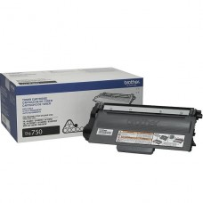 TONER Brother Alto rendimiento negro original para Brother DCP-8110, 8150, 8155, HL-5440, 5450, 5470, 6180, MFC-8510, 8710, 8910, 8950 P/N TN-750