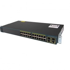 SWITCH Cisco Catalyst 2960-Plus Conmutador Gestionado  24 x 10/100 + 2 x Gigabit SFP combinado  montaje en rack P/N WS-C296024TC-L