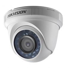 CAMARA DE VIGILANCIA Hikvision Turbo HD Camera cúpula para exteriores  resistente a la intemperie color (Día y noche) - 1 MP - 1280 x 720 - 720p - focal fijado - HD-SDI - DC 12 V P/N DS-2CE56C0T-IR