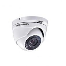 Camara de seguridad Hikvision de videovigilancia  cúpula  para exteriores  resistente a la intemperie color (Día y noche) 1 MP 720p montaje M12  focal fijado  compuesto  DC 12 V P/N DS-2CE56C0T-IRM