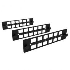 KIT DE 3 PLACAS LGX DE 12 POSICIONES LC/SD PLASTICA Furukawa DIO B48 P/N 35265042