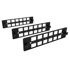 KIT DE 3 PLACAS LGX 8 POSICIONES LC/SC Furukawa PLASTICO P/N 35265041