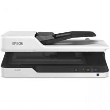 SCANNER Epson DS-1630 Escáner de documentos  a dos caras Legal 1200 ppp x 1200 ppp hasta 25 ppm (m ono) / hasta 25 ppm (color) - Alimentador automático de documentos (ADF) (50 hojas) - hasta 1500 exploraciones por día - USB 3.0 P/N  B11B239201