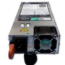 Dell - Fuente de alimentación - conectable en caliente / redundante (módulo de inserción) - 750 vatios