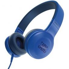AUDIFONO CON MICROFONO JBL E35 cableado azul P/N JBLE35BLU