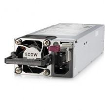 HPE - Fuente de alimentación - conectable en caliente / redundante (módulo de inserción) - Flex Slot - 80 PLUS Platinum - CA 100-240 V - 500 vatios - 563 VA