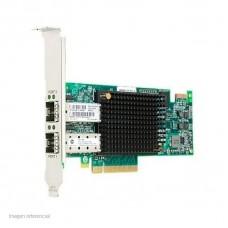 TARJETA DE RED DUAL PORT HBA LENOVO EMULEX 16GB GEN 6 P/N 01CV840