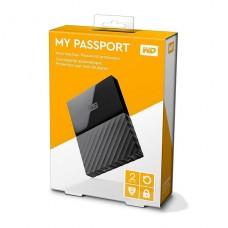 DISCO DURO EXTERNO W.D MY PASSPORT 2TB 2.5