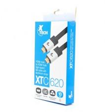 CABLE Xtech HDMI M A HDMI M CHS Flat10ft  P/N XTC-620