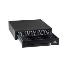 gaveta de dinero Bematech Negro RJ-12 Cable Universal Incluido Para Conectar a Impresoras POS Compatible con Impresoras Epson y Star 5 Billetes 6 Monederos Dimensiones 16