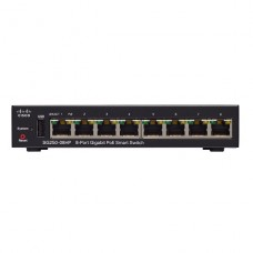 SWITCH Cisco 250 Series SG250-08HP Conmutador L3 inteligente 8 x 10/100/1000 (PoE+)  montaje en rack  PoE+ (45 W) P/N SG250-08HP-K9-NA