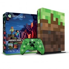 Consola Microsoft® Xbox One S 1TB Minecraft Limited Edition p/n 23C-00004