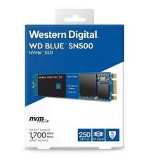 DISCO DE ESTADO SOLIDO SSD WD 250GB Blue SN500 NVMe M.2 2280 P/N WDS250G1B0C